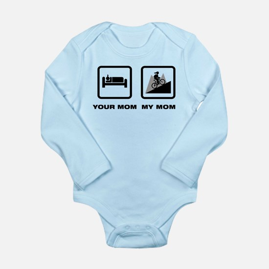 Mountain Biking Long Sleeve Infant Bodysuit