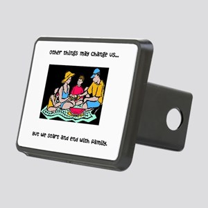 We Start and End with Family Hitch Cover