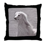 Afghan Portrait Throw Pillow