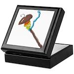 Rainbow Spindle Keepsake Box