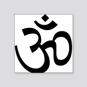 Aum / Om Symbol Rectangle Sticker