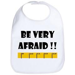 Ruler Be Very Afraid!! Black Bib