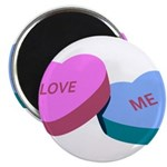 Love Me Candy Hearts Magnet