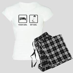 Kite Boarding Women's Light Pajamas