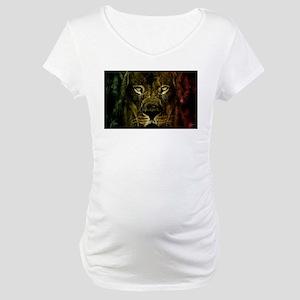 Rasta of Depth and Magnitude Maternity T-Shirt