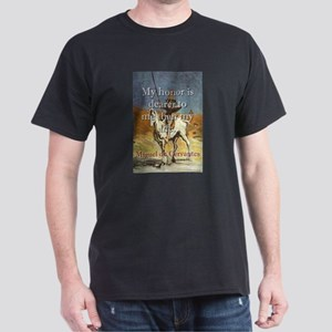 My Honor Is Dearer - Cervantes T-Shirt