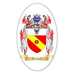 Antosch Sticker (Oval 50 pk)