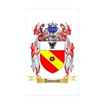 Antonutti Sticker (Rectangle 50 pk)