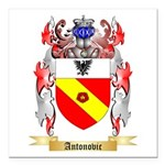 Antonovic Square Car Magnet 3