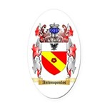 Antonopoulos Oval Car Magnet