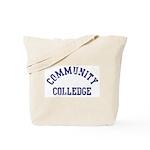 Community Colledge Tote Bag