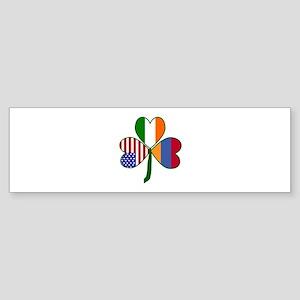 Shamrock of Armenia Sticker (Bumper)
