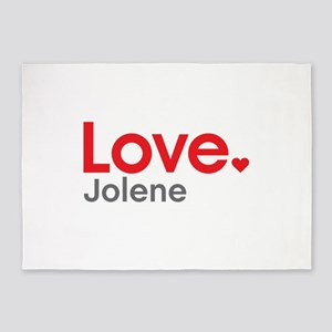 Love Jolene 5'x7'Area Rug