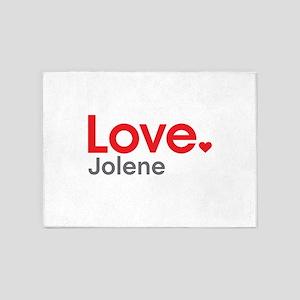 Love Jolene 5'x7'Area Rug