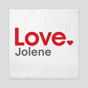 Love Jolene Queen Duvet