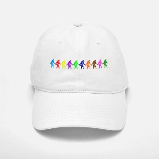 Ten Color Squatches Baseball Baseball Cap