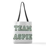 Team Aspie Polyester Tote Bag