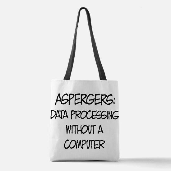 Aspergers Geek Polyester Tote Bag