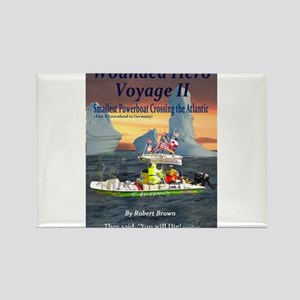 Wounded Hero Voyage II Rectangle Magnet