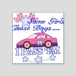 Some Girls Chase Boys Sticker