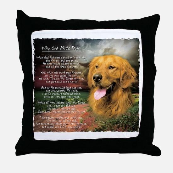 Cute Hunting dog Throw Pillow