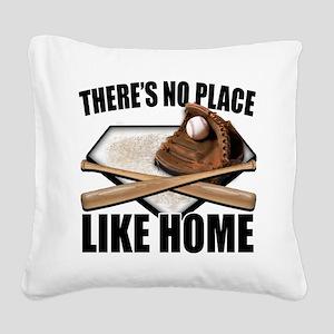 NoPlaceLikeHome copy Square Canvas Pillow
