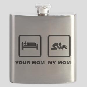 Tortoise Lover Flask