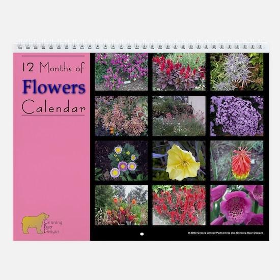 No2. Flower Wall Calendar