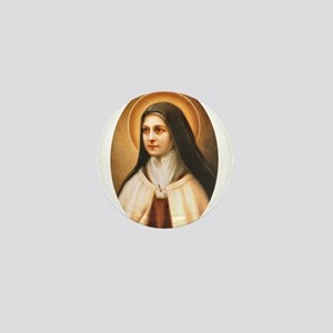 Saint Therese of Lisieux Mini Button