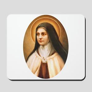 Saint Therese of Lisieux Mousepad