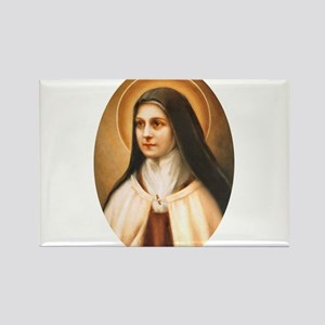 Saint Therese of Lisieux Rectangle Magnet
