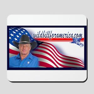 Wild Bill for America Eagle Mousepad