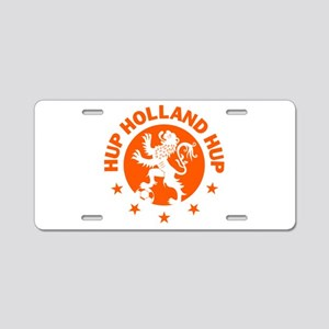 Hup Holland Hup Orange Dutc Aluminum License Plate