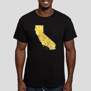 Paisley Men's Fitted T-Shirt (dark)