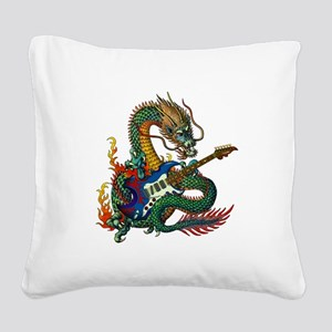 Ryuu Guitar 05 Square Canvas Pillow