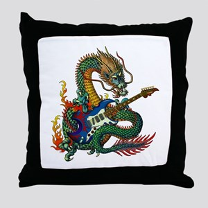 Ryuu Guitar 05 Throw Pillow