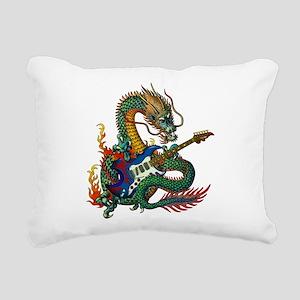Ryuu Guitar 05 Rectangular Canvas Pillow