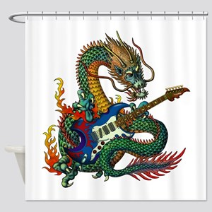 Ryuu Guitar 05 Shower Curtain