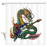 Ryuu Guitar 05 Shower Curtain