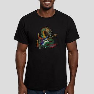 Ryuu Guitar 05 Men's Fitted T-Shirt (dark)