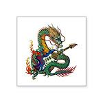 Ryuu Guitar 05 Square Sticker 3