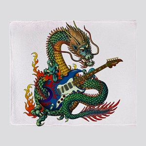 Ryuu Guitar 05 Throw Blanket