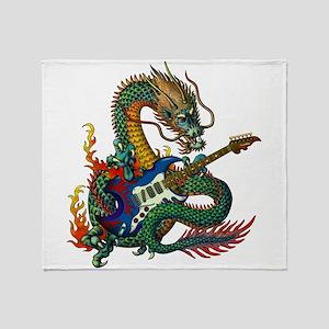 Ryuu Guitar 05 Throw Blanket