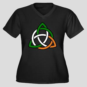irish celtic knot Plus Size T-Shirt