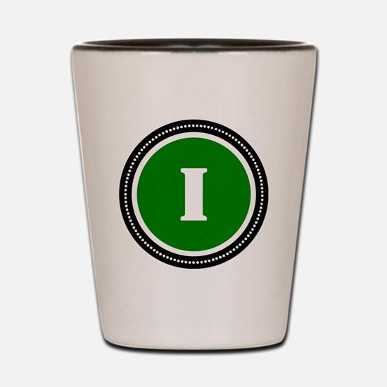 Green Shot Glass