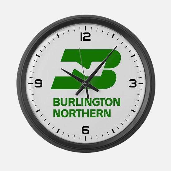 Cute Burlington northern Large Wall Clock