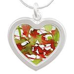 Window #2 Silver Heart Necklace