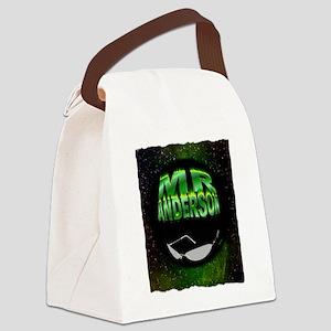 mr anderson art illustration Canvas Lunch Bag