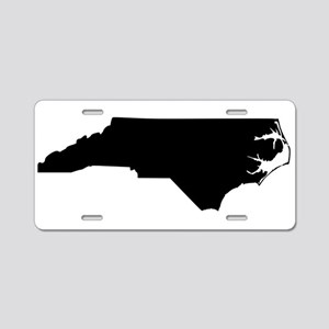 Black Aluminum License Plate