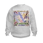 Graphic Design Word Cloud Sweatshirt